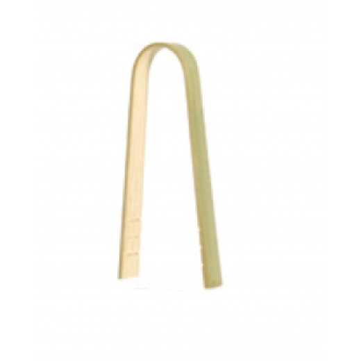 Pinze clipper resistente e biodegradabile 8 cm. in Bamboo - 2500 pz.