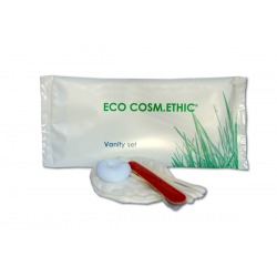 Vanity set in flow pack Linea DOLCOS - ECO COSM.ETHIC - 500 Pz.
