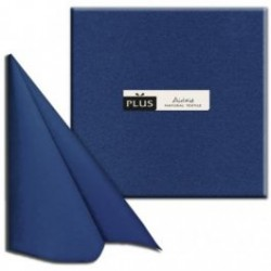 Tovaglioli 40X40 Color Blue Napkin Airlaid Carta a Secco PLUS line 800pz