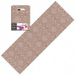 Runner You & Me 120x48 Airlaid Victoria cappuccino -  200pz