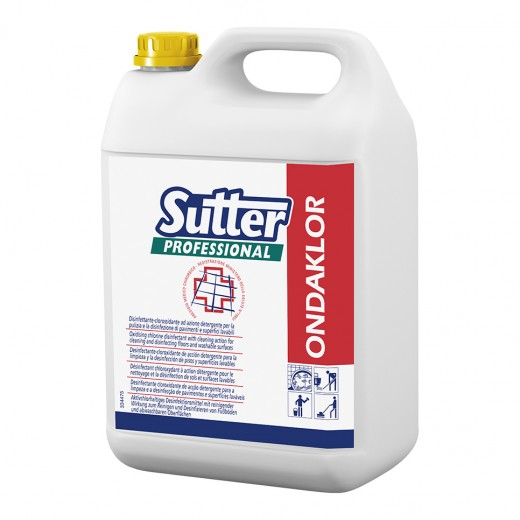 Disinfettante SUTTER ONDAKLOR 5kg. - 4pz.