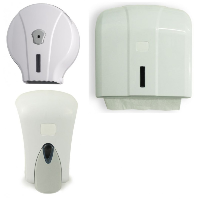 Kit Dispenser Bagno In Plastica Medial Wave