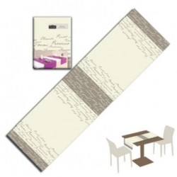 Runner You & Me 120x40 Airlaid Wine Creta 200pz