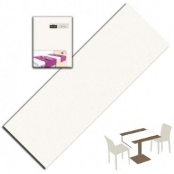 Runner You & Me 120x48 Airlaid Bianco PLUS line - 200pz