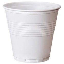 Bicchieri di plastica bianchi 80cc - 48 confezioni da 100pz