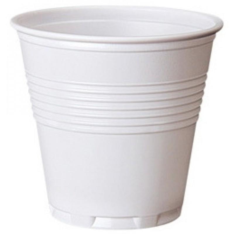 Bicchieri in plastica caff monouso colore bianco 80cc for Bicchieri caffe