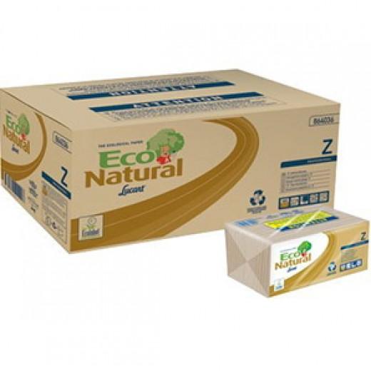 "Carta Asciugamani ""Z"" Lucart Eco Natural 3960pz"