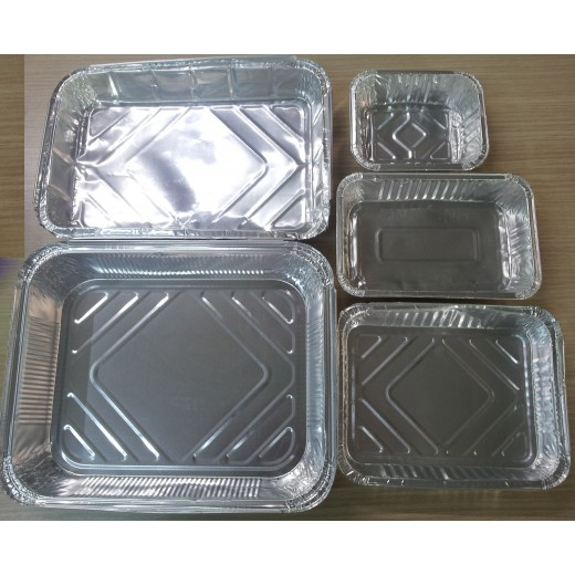Vaschette In Alluminio Rettangolari
