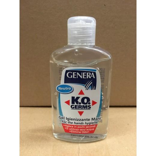 Gel Igienizzante Mani Genera - 80ml - 24 pezzi