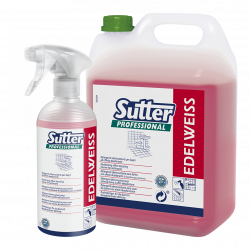 Detergente disincrostante igienizzante SUTTER EDELWEISS 500ml - 12 pezzi