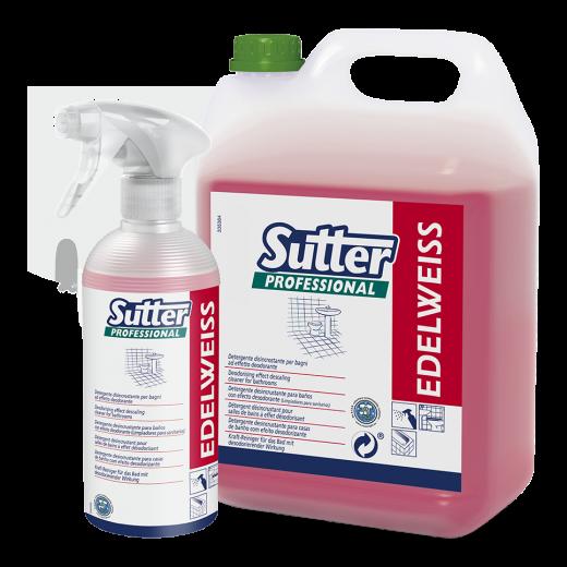 Detergente disincrostante igienizzante SUTTER EDELWEISS 500ml. - 12pz.