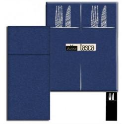 Portaposate 40X32 Blu Tovagliolo Airlaid carta a secco PLUS line 50pz. - 24 confezioni